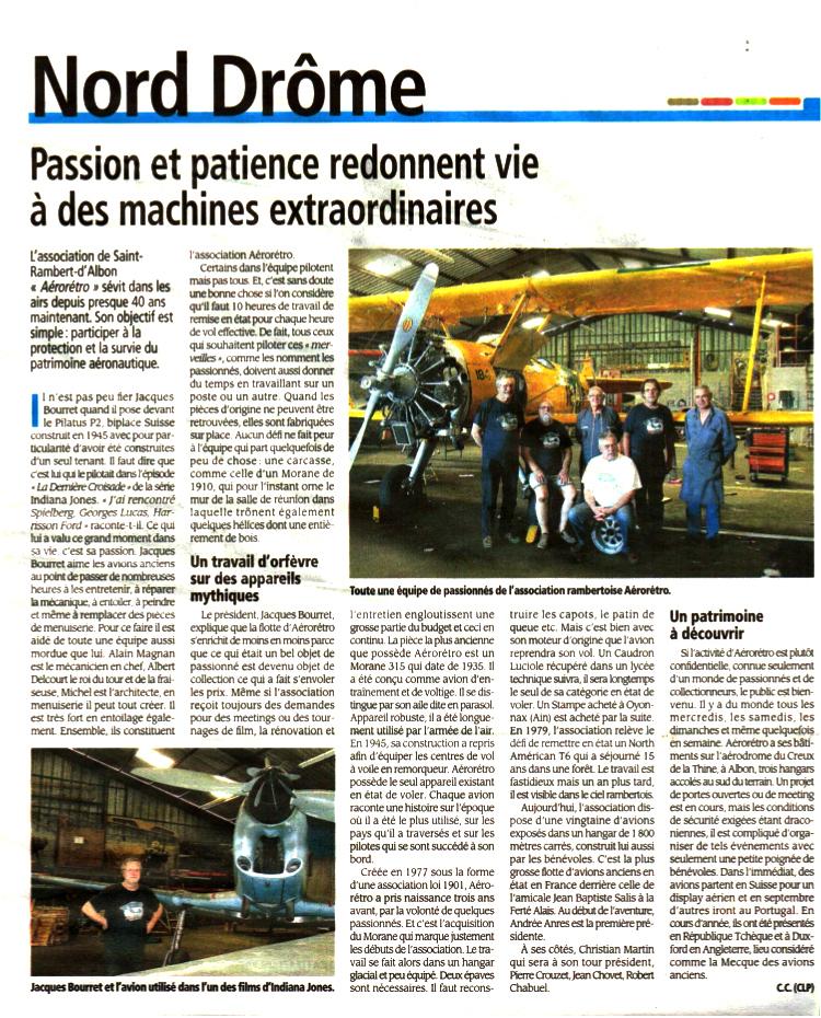 Un article sur Aéro-Rétro