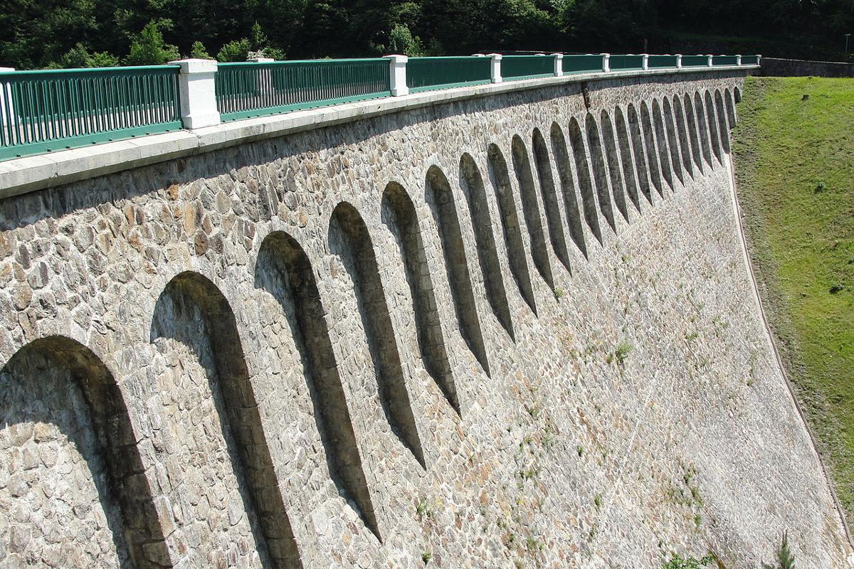 Barrage de l'ondénon (juin 2010)