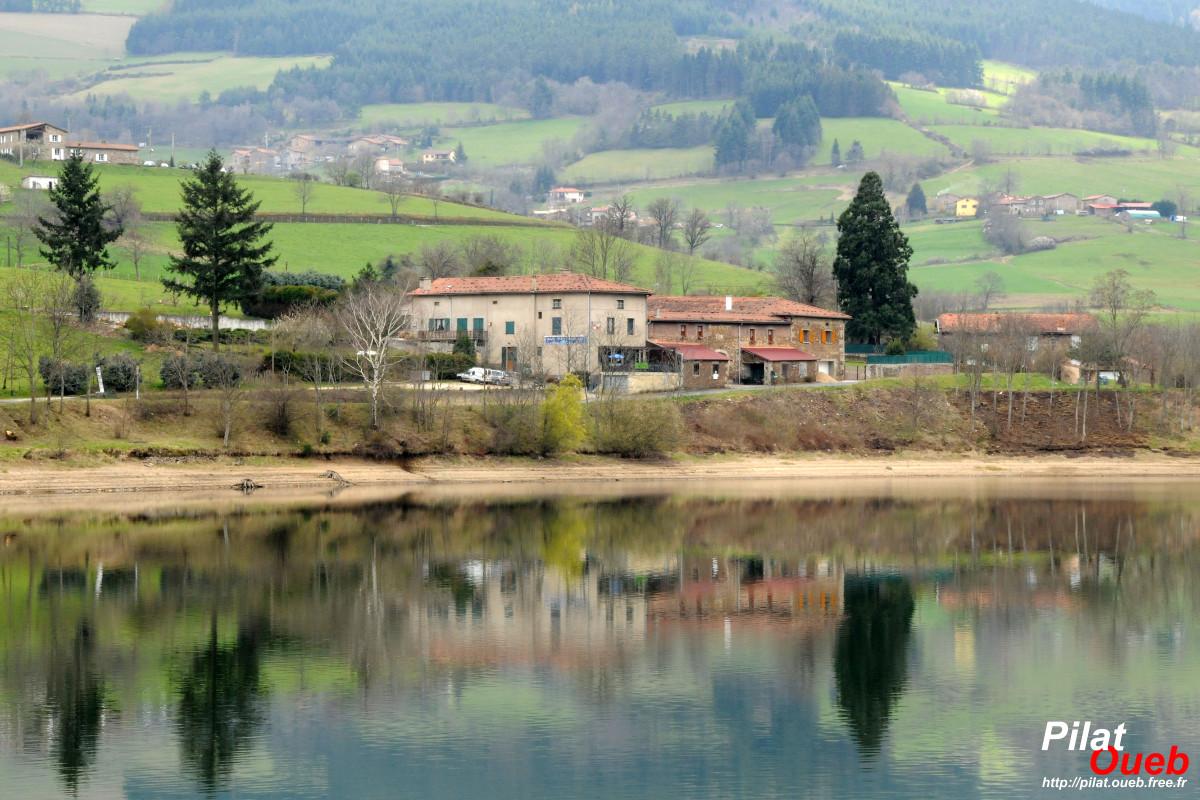 Barrage du Dorlay (avril 2008)