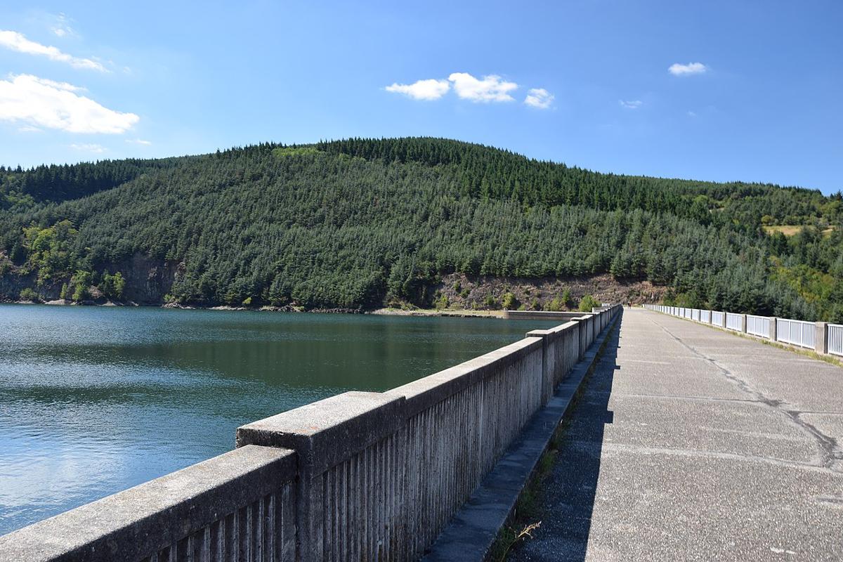 Barrage du Dorlay (août 2018)