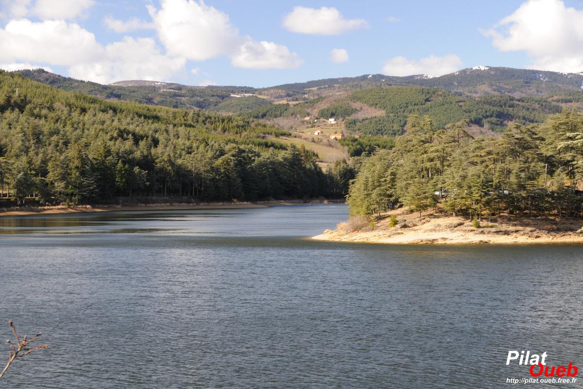 Lac du Ternay (février 2010)