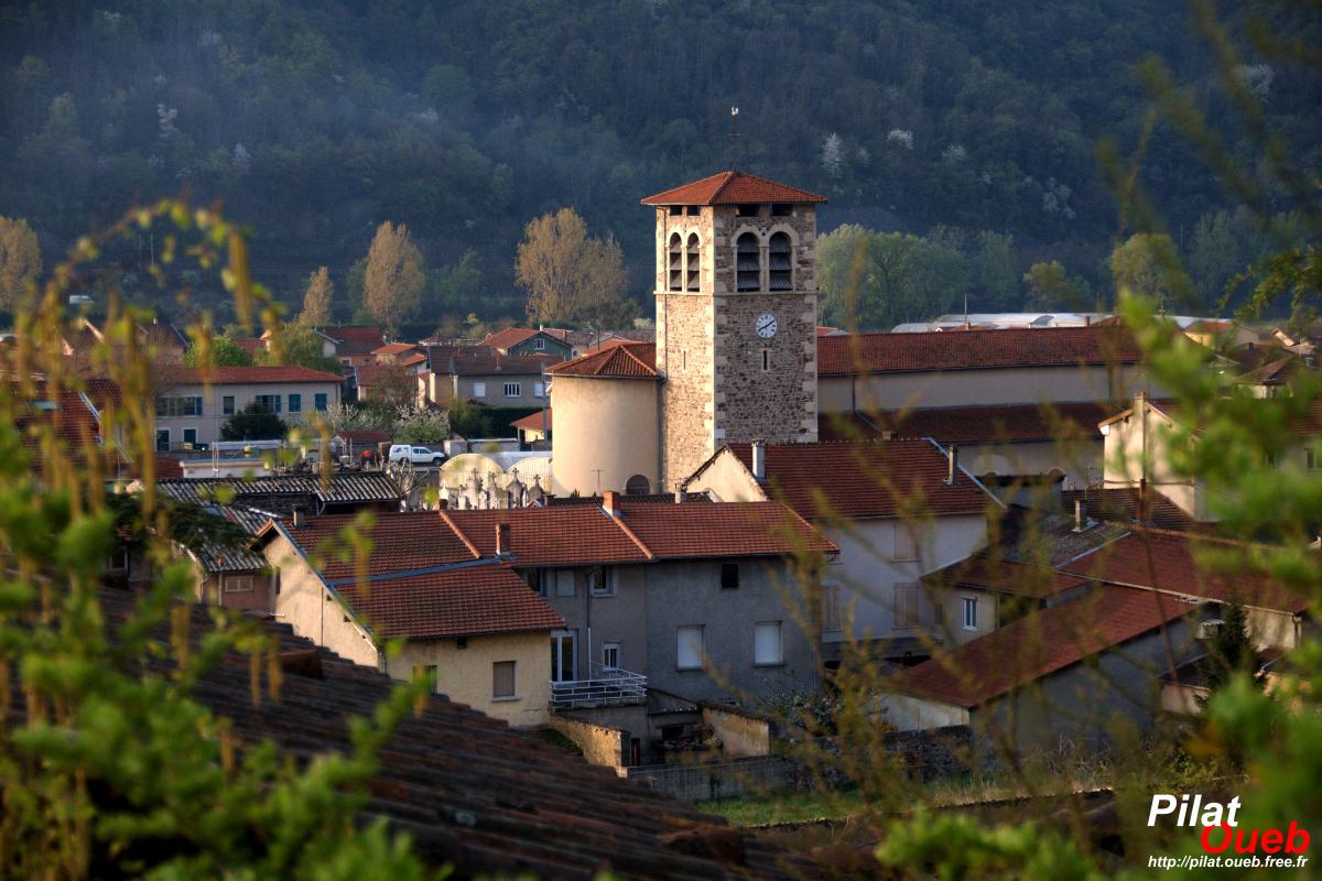 Village d'Ampuis (avril 2009)