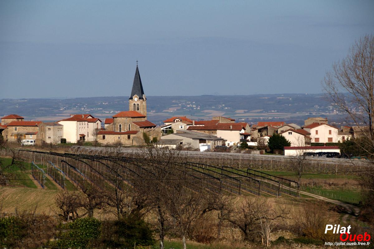 Le village de Bessey<br/>(mars 2009)