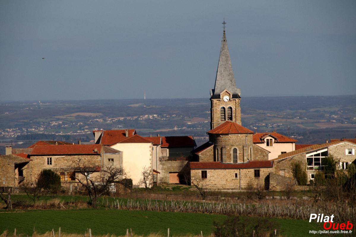 L'église de Bessey<br/>(mars 2009)