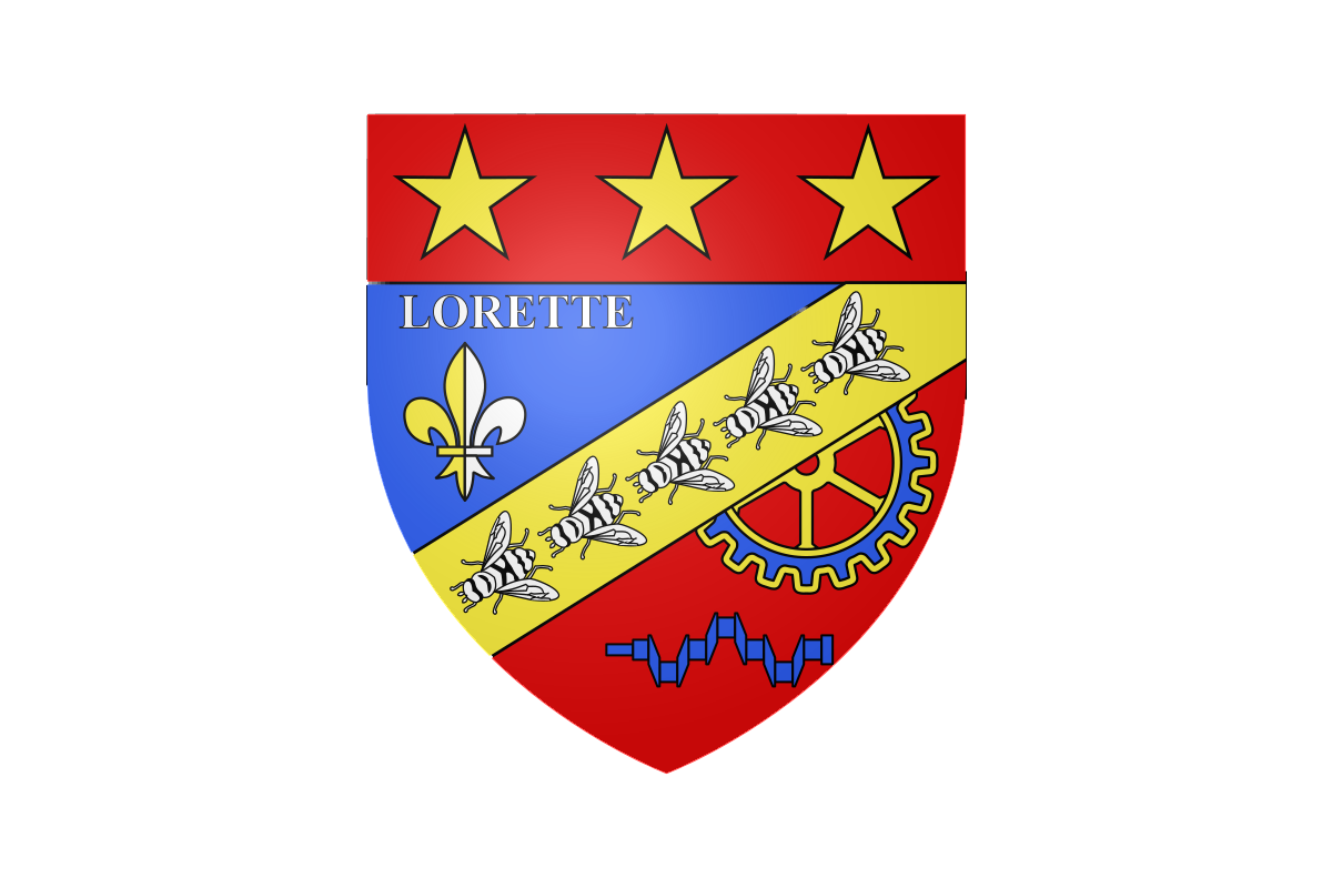 Armoiries de Lorette (42)