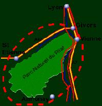Géographie du Pilat