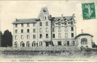 L'hôtel brûlé du Pilat