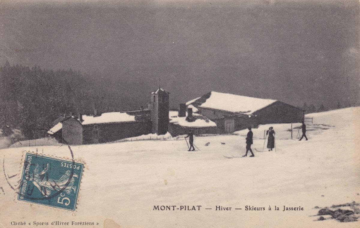 La Jasserie du Pilat en hiver
