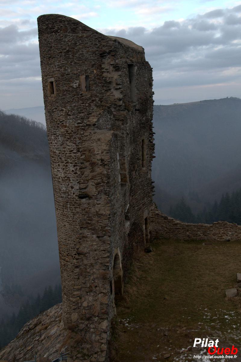 Le château de Rochetaillée<br/>(février 2009)
