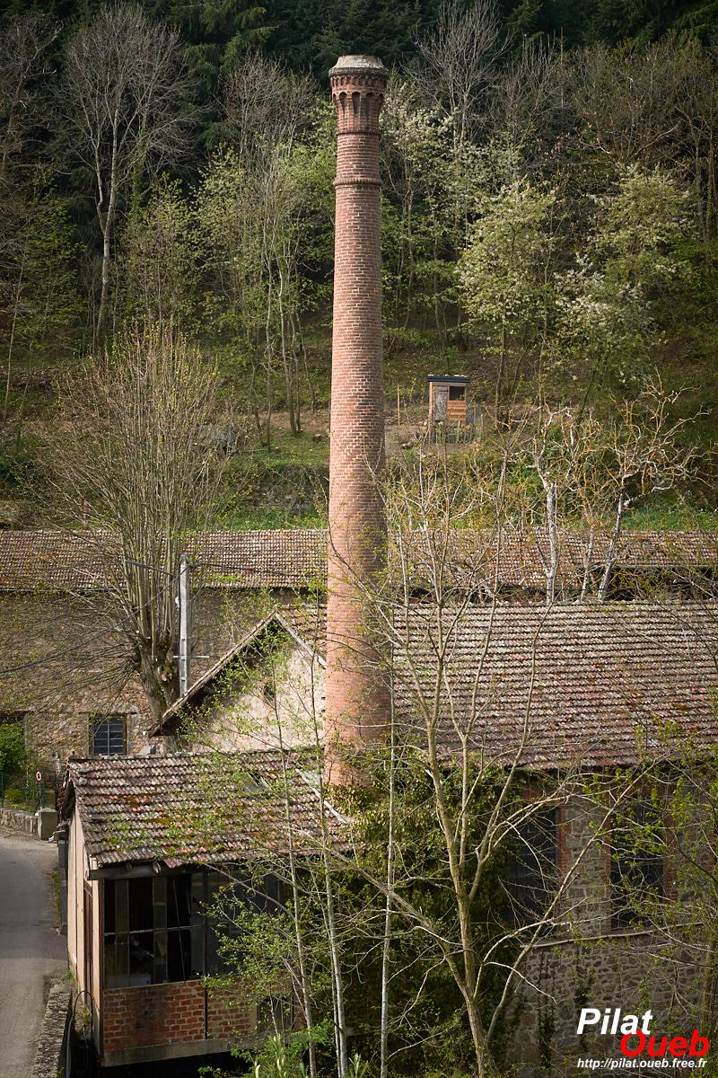 Ancienne usine de moulinage<br/>(avril 2019)