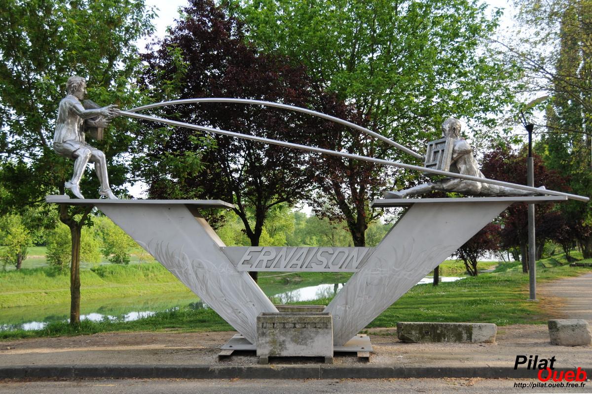 Sculpture à Vernaison