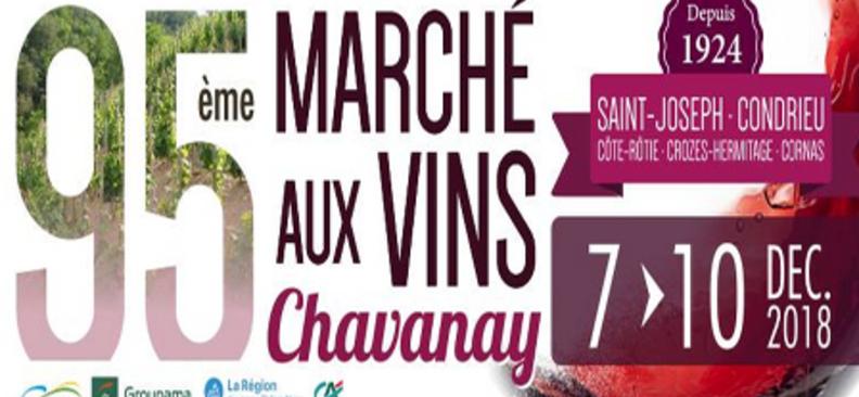 Marché aux vins de Chavanay